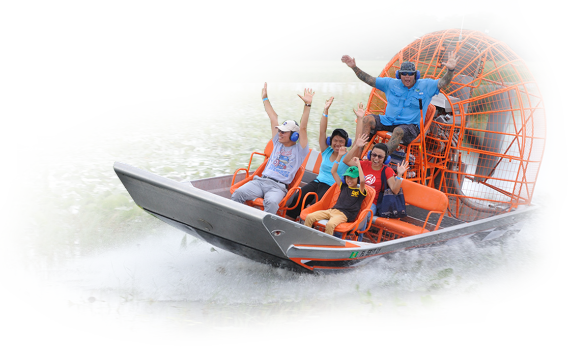 Best Airboat rides in Orlando Florida Orange Airboat for website